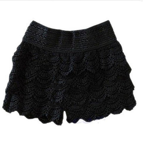Midnight Lace Shorts