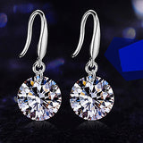 .925 Swarovski Crystal Drill Earrings