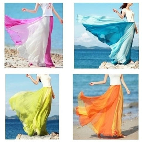 Flowing Chiffon Skirt