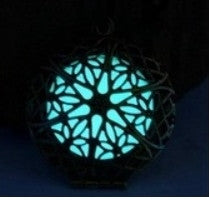 Glow Flower Pendant Necklace