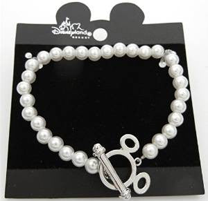 Mickey Mouse Pearl Bracelet