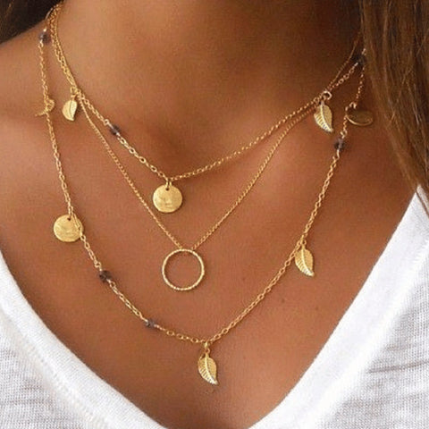 Multi-Layer Circle Necklace