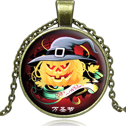 Jack O' Lantern Necklace