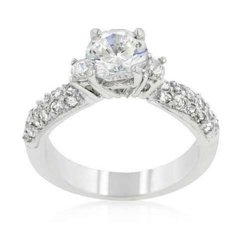 Classic Pave Bridal Ring