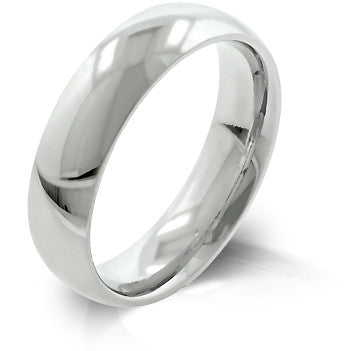5 mm Stainless Wedding Band
