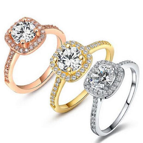 Classic Cushion Cut Ring