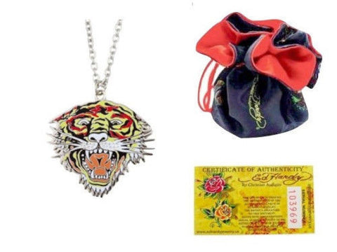 Ed Hardy® Tiger Head Necklace