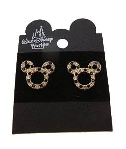 Mickey Mouse Crystal Earrings