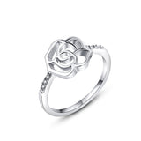 Open Cut Rose Ring