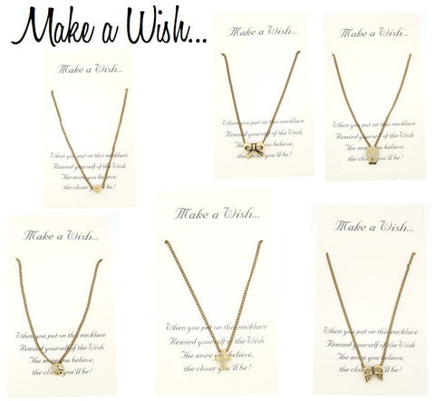 Make A Wish Necklaces