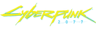 Cyberpunk 2077 logo graphic.