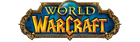World of Warcraft logo mobile graphic.