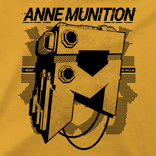 View 2 of Anne Munition One Shot Premium Tee photo. alternate photo.