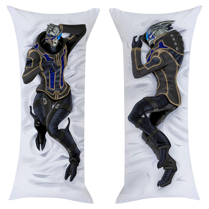 View 1 of Mass Effect Garrus Vakarian Body Pillow Case photo.
