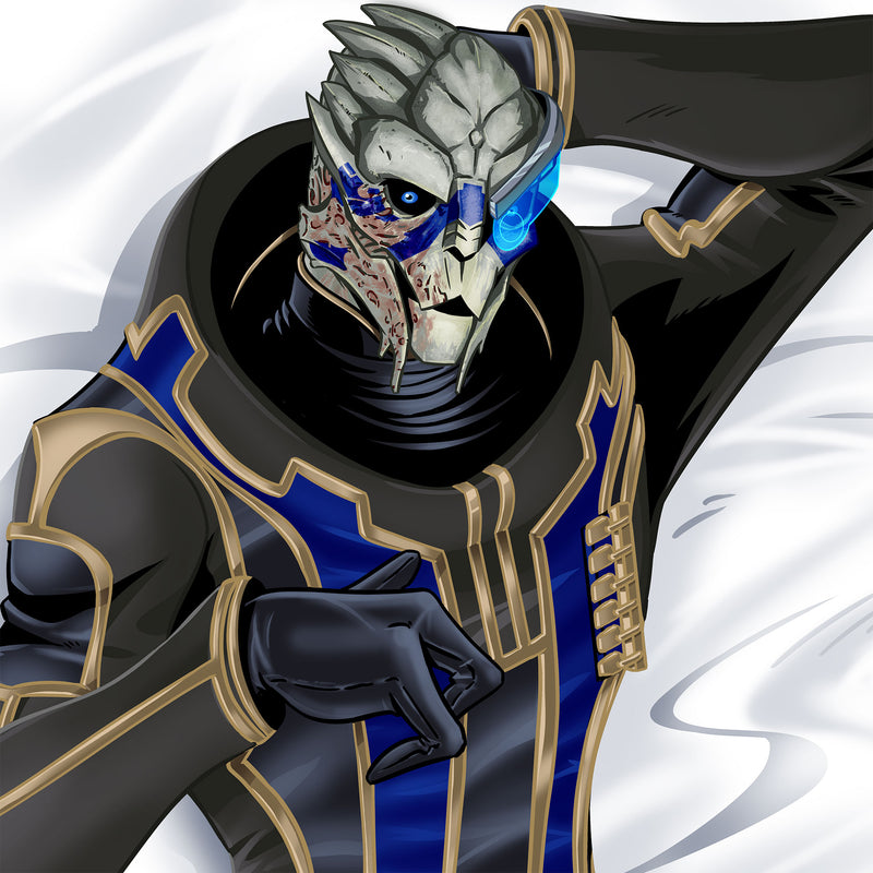 View 2 of Mass Effect Garrus Vakarian Body Pillow Case photo.