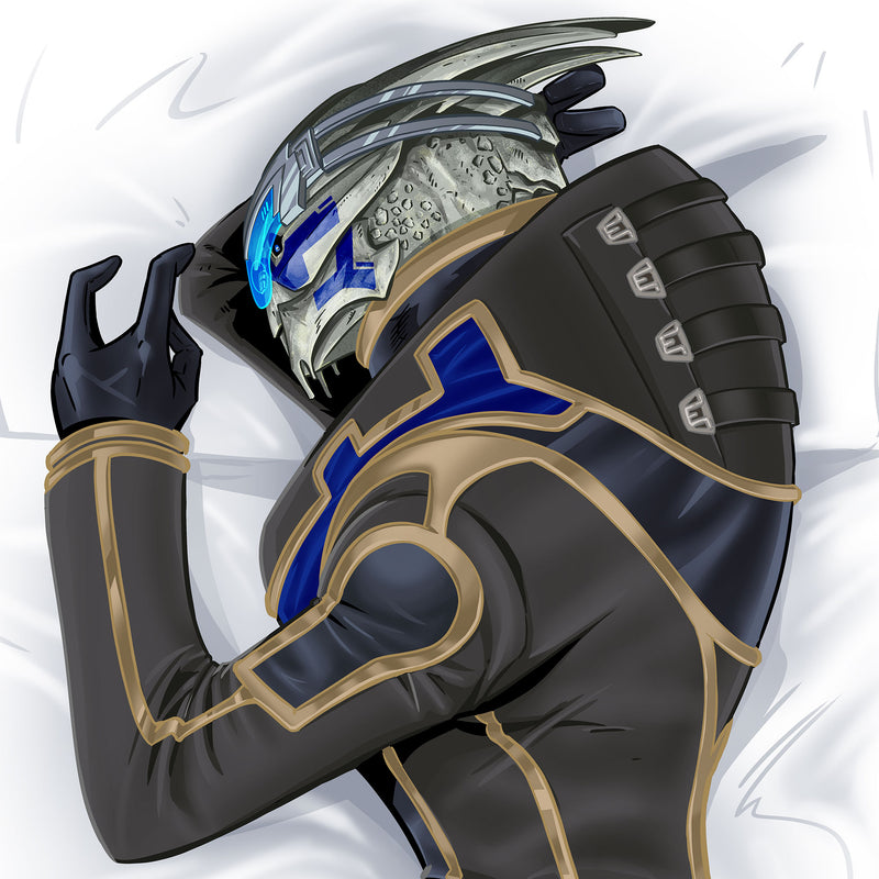 View 3 of Mass Effect Garrus Vakarian Body Pillow Case photo.
