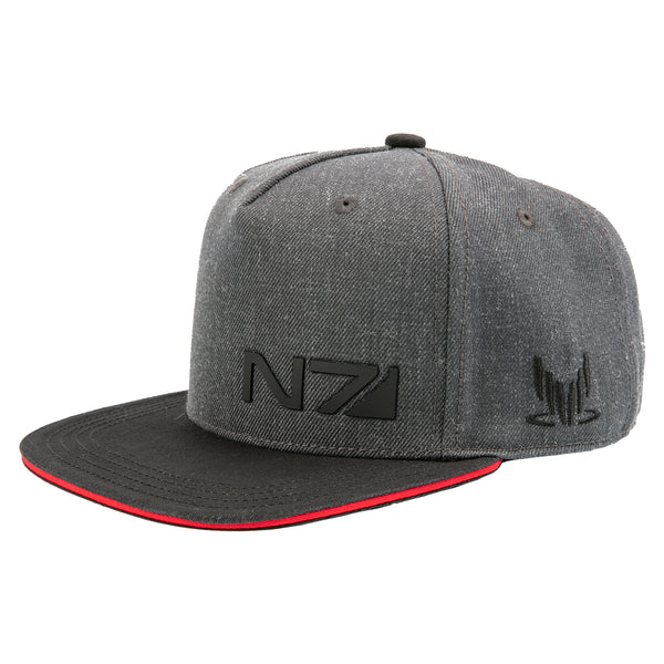 View 1 of Mass Effect N7 Special Forces Snap Back Hat photo. primary photo.