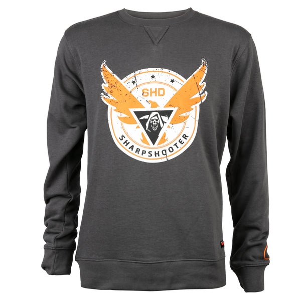 View 1 of The Division 2 Sharpshooter Crew Neck Sweatshirt photo. primary photo.