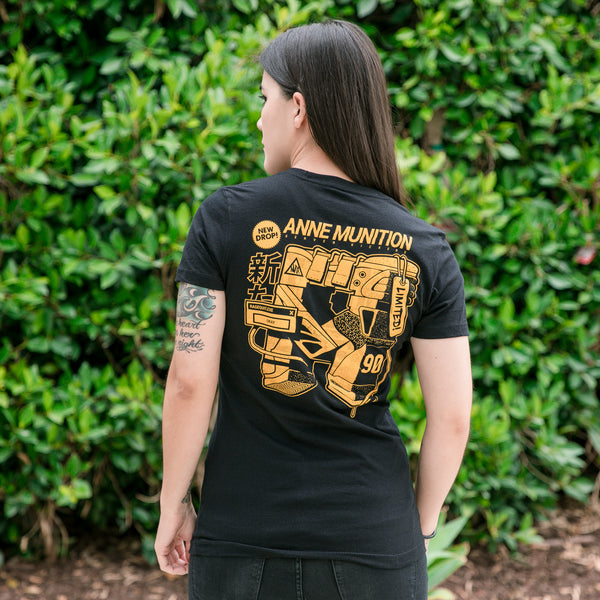 View 1 of Anne Munition Hyper Stock Women's Tee photo. primary photo.