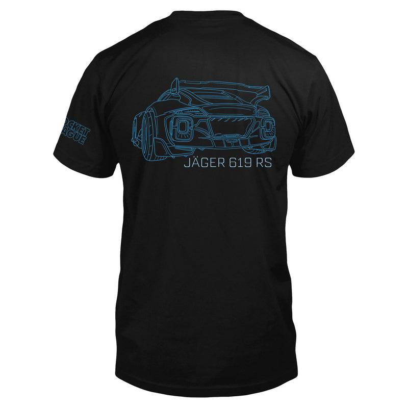 View 1 of Rocket League Jager Club Premium Tee photo.