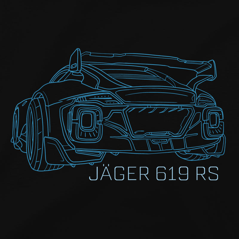 View 3 of Rocket League Jager Club Premium Tee photo.