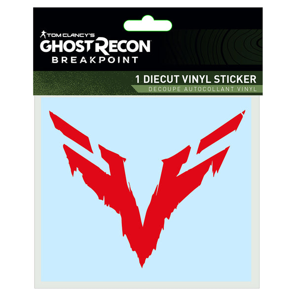 View 1 of Ghost Recon Breakpoint Wolves Sigil Vinyl Decal photo. primary photo.