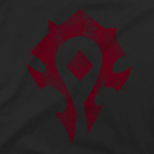 View 2 of World of Warcraft Cracked Horde Premium Tee photo. alternate photo.