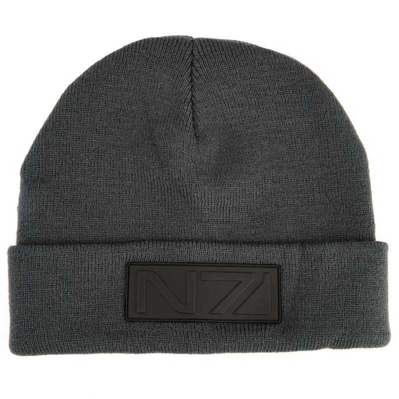 View 1 of Mass Effect Night Spectre Beanie photo.