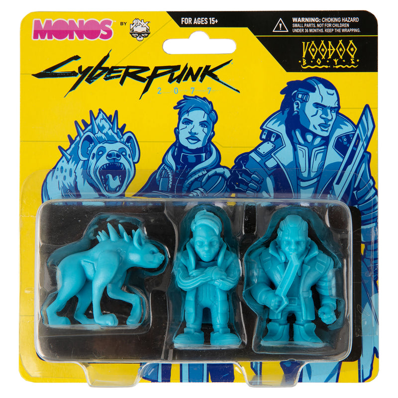 View 4 of Cyberpunk 2077 Monos Voodoo Boys Set, Series 1 photo.