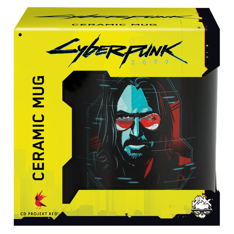 View 4 of Cyberpunk 2077 Digital Ghost Mug photo.