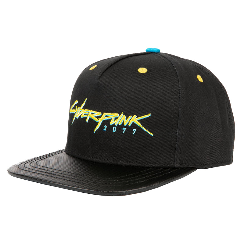 View 1 of Cyberpunk 2077 Logo Snap Back Hat photo.