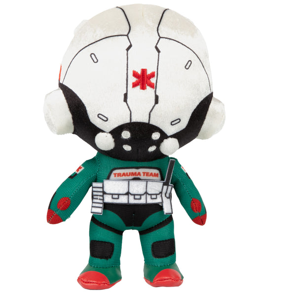 View 2 of Cyberpunk 2077 M8Z Trauma Team Security Specialist Plush photo. alternate photo.