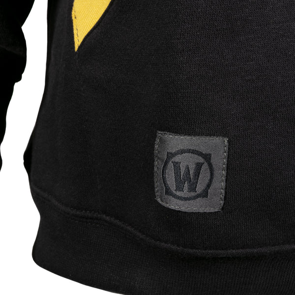 View 2 of World of Warcraft Alliance to the End Pullover Hoodie photo. alternate photo.