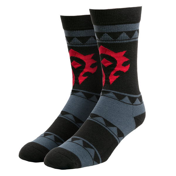 View 1 of World of Warcraft Casual Horde Socks photo. primary photo.
