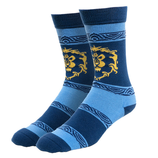 View 1 of World of Warcraft Casual Alliance Socks photo. primary photo.