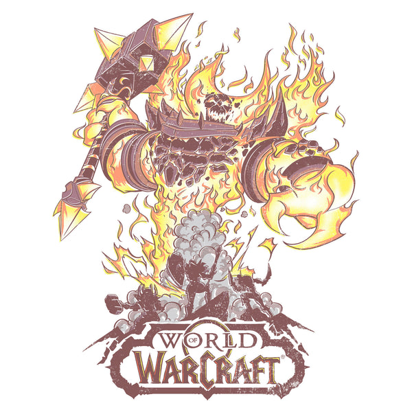 View 2 of World of Warcraft Fire Lord Premium Tee photo. alternate photo.