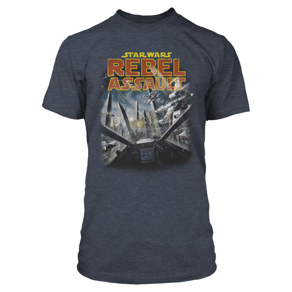 View 1 of Star Wars Rebel Assault Premium Tee photo. primary photo.