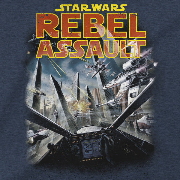 View 2 of Star Wars Rebel Assault Premium Tee photo. alternate photo.