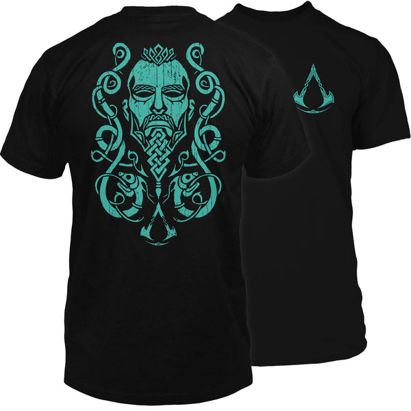 View 1 of Assassin's Creed Valhalla Warrior Premium Tee photo. primary photo.