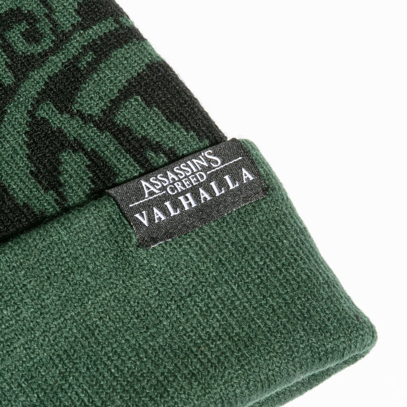 View 3 of Assassin's Creed Valhalla Winter Warrior Beanie photo.