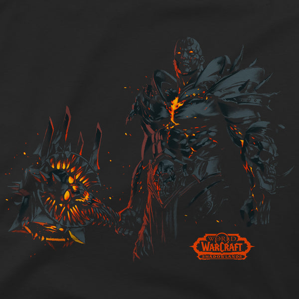 View 2 of World of Warcraft Shadowlands Usurper Premium Tee photo. alternate photo.