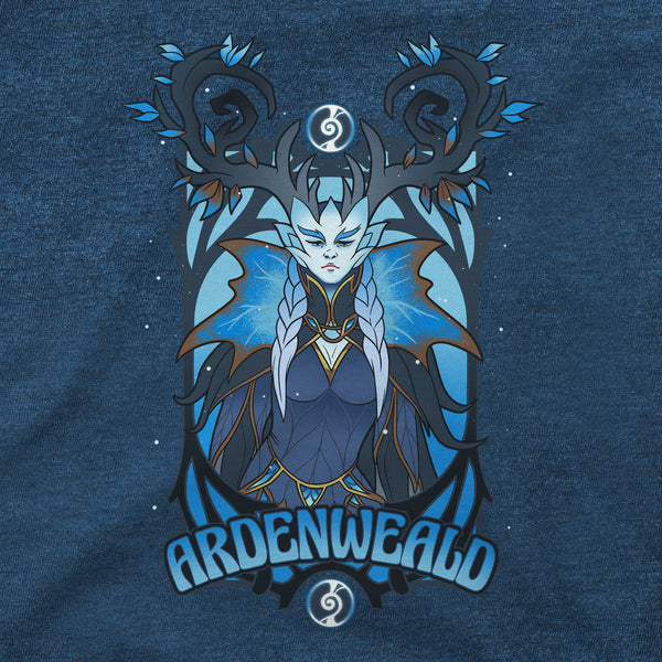 View 2 of World of Warcraft Shadowlands Winter Queen Premium Tee photo. alternate photo.
