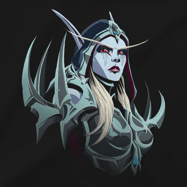 View 2 of World of Warcraft Shadowlands Banshee Queen Premium Tee photo. alternate photo.