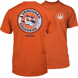View 1 of Star Wars: Squadrons Vanguard Patch Premium Tee photo.