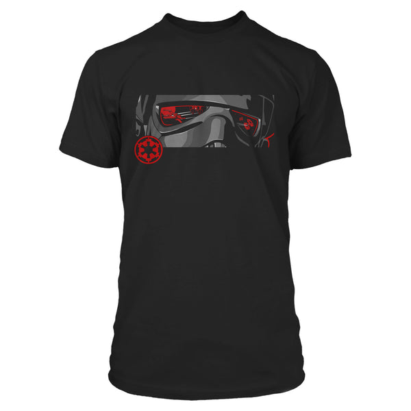 View 1 of Star Wars: Squadrons Imperial Helm Premium Tee photo. primary photo.