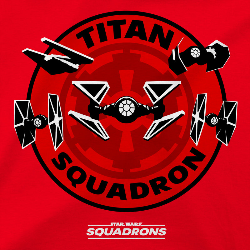 View 4 of Star Wars: Squadrons Titan Patch Premium Tee photo.