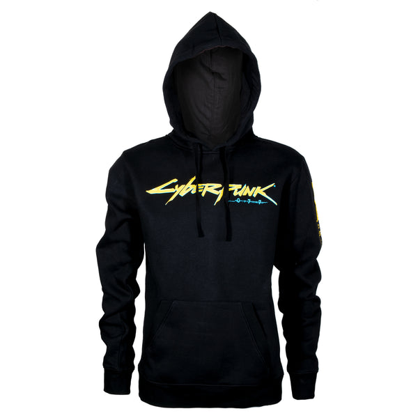 View 1 of Cyberpunk 2077 First Gig Pullover Hoodie photo. primary photo.