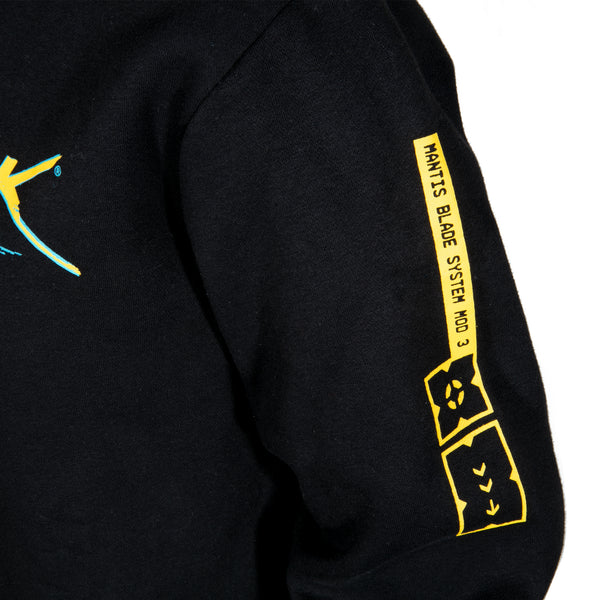 View 2 of Cyberpunk 2077 First Gig Pullover Hoodie photo. alternate photo.