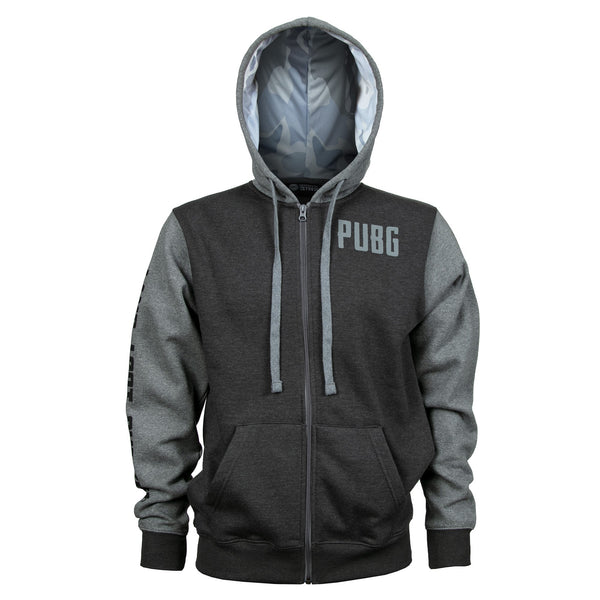 PUBG Level 3 Zip-Up Hoodie primary photo.