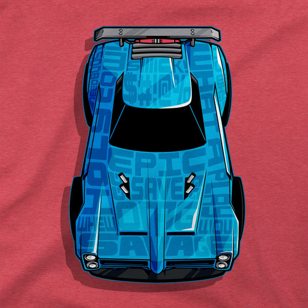 Rocket League Dominus Calligram Premium Tee alternate photo.